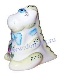 Новогодний сувенир подсвечник в виде дракона - Дракон Джентльмен