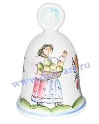 Сувенир Колокольчик Праздник малый