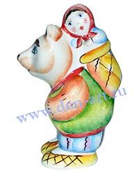 Сувенир Маша и медведь