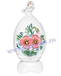 Сувенир пасхальное яйцо Маки №1 (с ангелом)