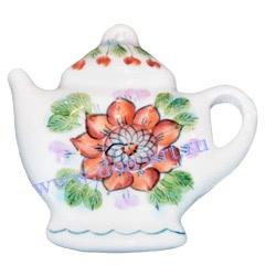 Сувенир с магнитом Чайник (вар. Подсолнух)