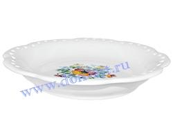 Тарелка десертная Ретро (резная)