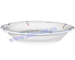 Тарелка десертная Ретро (Зимушка) резная