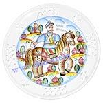 Тарелка настенная Казак Донской