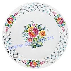 Тарелка Цветы (вар. Наташа)