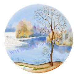 Тарелка Утро туманное - Весна