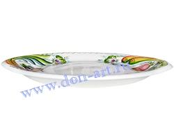 Тарелка Зеленый лук