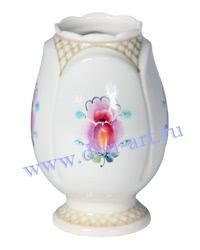 Ваза Лазоревый цветок (вар. Сетка)